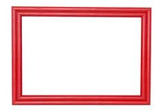 Wood frame. Isolated on white background Stock Image