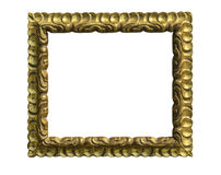 Wood frame isolated Royalty Free Stock Image