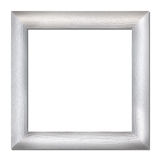 Wood frame isolated on white Royalty Free Stock Photo