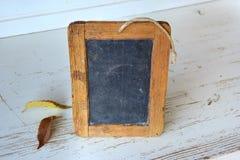 Wood Frame Mini Chalk Board Stock Image
