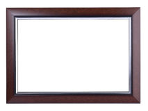 Wood frame photo Royalty Free Stock Images
