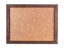 Wood frame with plywood board Royalty Free Stock Photography