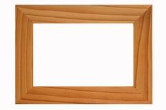 A wood frame. Royalty Free Stock Photos