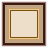 Wood frame Royalty Free Stock Image
