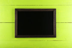 Wood frame on wooden background royalty free stock image