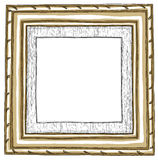 Wood Framed painting Royalty Free Stock Images