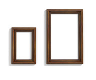 Wood frames Stock Images