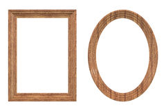 Wood Frames Royalty Free Stock Images