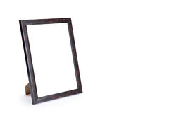 Wood frames Stock Photography