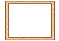 Wood_framework Fotografia de Stock Royalty Free