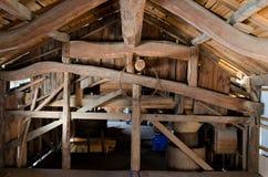 Wood framework Royalty Free Stock Images