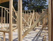 Wood Framing Stock Photography