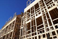 Wood framing Stock Photos