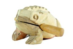 Wood Frog Stock Image