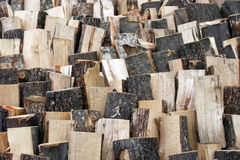 Wood fuel Royalty Free Stock Image