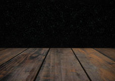 Wood and galaxy. Wooden grunge texture and night sky background Royalty Free Stock Images