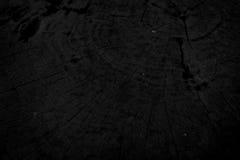 Wood gammal svart bakgrund arkivbilder