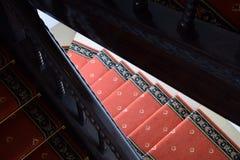 wood gammal trappa Royaltyfria Bilder