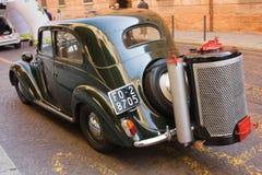 Wood gas car Royalty Free Stock Photo