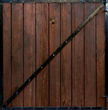Wood gate Stock Images