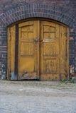 Wood gate. Old wooden door/wood gate/wooden door Stock Photography