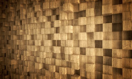 Wood geometric background Royalty Free Stock Photos
