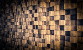 Wood geometric background Stock Image
