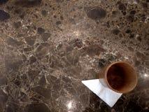 Wood Glass On Marble. Wood, Marble, minimalist, clean, mockup, modern Stock Images