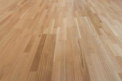 Wood golv - ekparkett/laminat Royaltyfri Bild