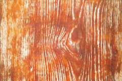 Wood grain. Old wooden texture, the paint has come off Royalty Free Stock Photo