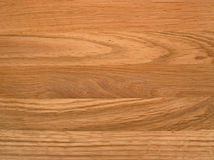 Wood Grain. Oak table-top with prominent grain Stock Photos