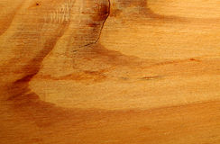 Wood grain backcloth. Brown wood cracked surface with grain Stock Photo