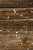 Rustic old striped board. Royalty Free Stock Photography