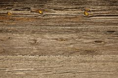 Rustic old striped board. Stock Photos