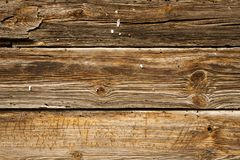 Rustic old striped board. Stock Photo