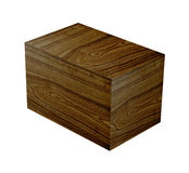 Wood Grain box Stock Photo