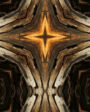 Wood grain cross 10 Royalty Free Stock Photography