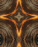 Wood grain cross 14 stock photography