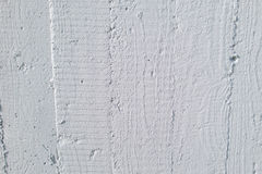 Wood grain imprint on wall Stock Photo