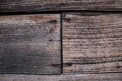 Wood grain. And junction of the wall Stock Image