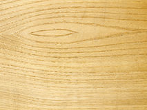 Wood with grain and knot, texture Stock Image