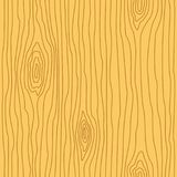 Wood grain texture. Seamless wooden pattern. Abstract line background. Vector illustration Stock Photos