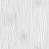 Wood grain texture. Seamless wooden pattern. Abstract line background. Vector illustration stock illustration