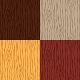 Wood grain texture set. Seamless wooden pattern. Abstract background. Vector illustration royalty free illustration