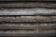 Wood grain. Wood wall of the classic home Stock Photo
