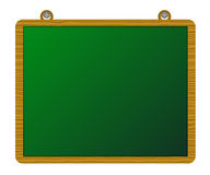 Wood greenboard Stock Photo