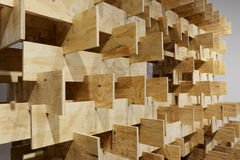 Wood grid Stock Photos