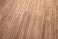 Wood ground top view Royalty Free Stock Photo