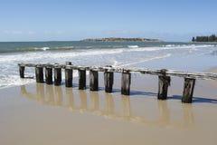 Wood Groyne, Victor Harbor, Fleurieu Peninsula, South Australia Royalty Free Stock Images