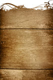 Wood grungy background frame Royalty Free Stock Photography